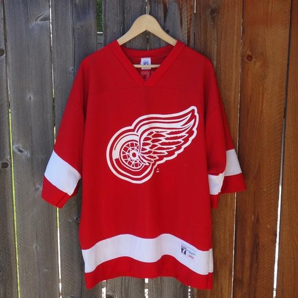 buy popular 16dbb 896c0 Vintage Detroit Red Wings Steve Yzerman Jersey